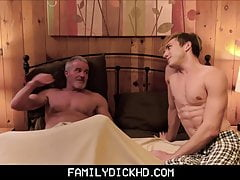 Hot Athletic Body Twink Grandson Fucked By Grandpa In Bed