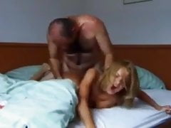Horny Teen Used Hard By Her Owner of an Apartment