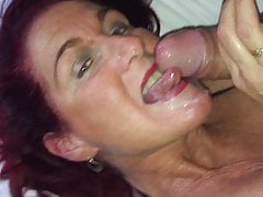Shooting my load over her face