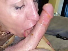 Blowjob after anal
